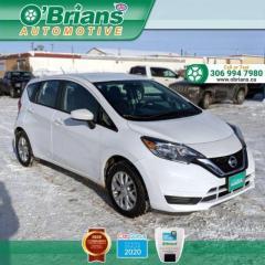 Used 2019 Nissan Versa Note SV w/Mfg Warranty, Heated Seats, Backup Camera for sale in Saskatoon, SK
