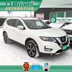 Used 2020 Nissan Rogue SV - Loaded! w/Mfg Warranty, AWD, Adaptive Cruise, 360 degree ca for sale in Saskatoon, SK