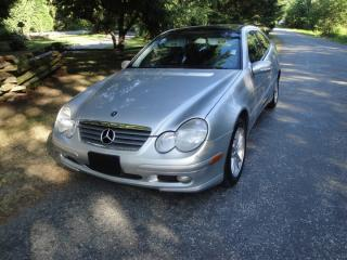 Used 2002 Mercedes-Benz C230 KOMPRESOR for sale in Surrey, BC