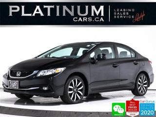 Used 2013 Honda Civic Touring, NAV, LEATHER, CAM, ECO, BLUETOOTH, AUTO for sale in Toronto, ON