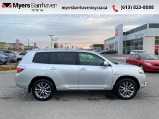 Used 2010 Toyota Highlander HYBRID 4WD 4DR Hybrid for sale in Ottawa, ON