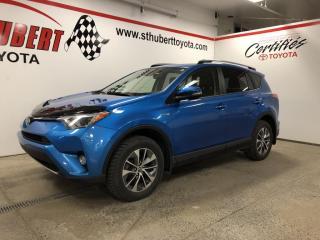 Used 2018 Toyota RAV4 AWD Hybrid LE+ for sale in St-Hubert, QC