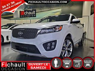 Used 2017 Kia Sorento SX+ V6   *7 PASSAGERS* for sale in Châteauguay, QC