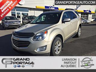 Used 2016 Chevrolet Equinox Traction intégrale, 4 portes LT for sale in Rivière-Du-Loup, QC