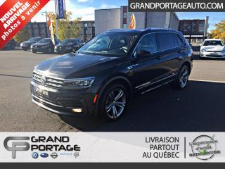 Used 2018 Volkswagen Tiguan Highline 4MOTION for sale in Rivière-Du-Loup, QC