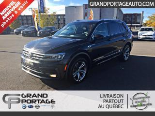 Used 2018 Volkswagen Tiguan Highline 4MOTION for sale in Rivière-Du-Loup, QC
