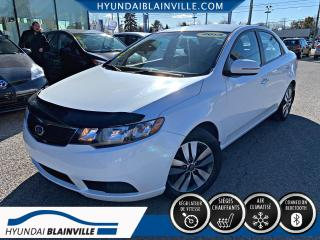 Used 2013 Kia Forte EX MAGS, BLUETOOTH, BANCS CHAUF, A/C for sale in Blainville, QC