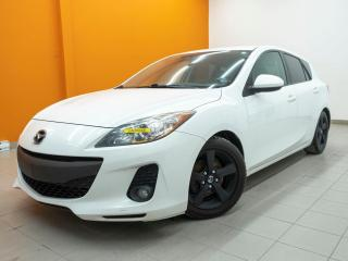 Used 2013 Mazda MAZDA3 GX CLIMATISEUR *PROGRAMME 100% APPROUVÉ* for sale in St-Jérôme, QC