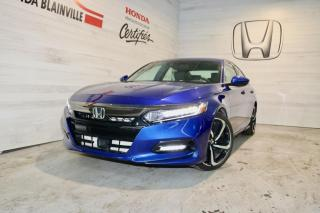 Used 2018 Honda Accord Sport CVT for sale in Blainville, QC