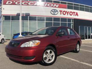 Used 2008 Toyota Corolla **AUTO/AIR/VITRES/AGS/TOIT OUVRANT** for sale in St-Eustache, QC