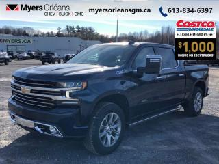 New 2021 Chevrolet Silverado 1500 High Country  - Sunroof for sale in Orleans, ON