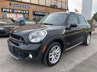 Used 2015 MINI Cooper Countryman ALL4 4dr S / PANORAMIC SUNROOF for sale in North York, ON