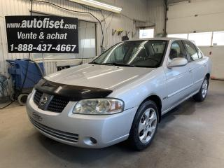 Used 2005 Nissan Sentra 1.8 for sale in St-Raymond, QC