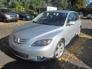 Used 2005 Mazda MAZDA3 Familiale sport à 5 portes Sport GS, for sale in Sorel-Tracy, QC