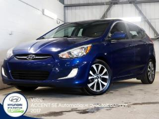 Used 2017 Hyundai Accent SE 5 portes automatique for sale in Val-David, QC