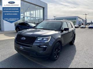 Used 2019 Ford Explorer Sport, quatre roues motrices for sale in Victoriaville, QC