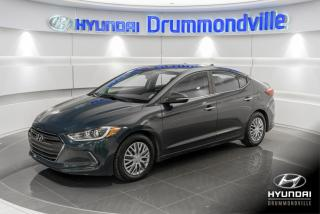 Used 2017 Hyundai Elantra LIMITED + GARANTIE + NAVI + CUIR + TOIT for sale in Drummondville, QC
