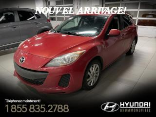 Used 2013 Mazda MAZDA3 GX + GARANTIE + A/C + MAGS + CRUISE + W for sale in Drummondville, QC