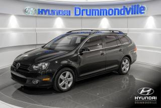 Used 2013 Volkswagen Golf Wagon HIGHLINE TDI + GARANTIE + TOIT PANO + WO for sale in Drummondville, QC