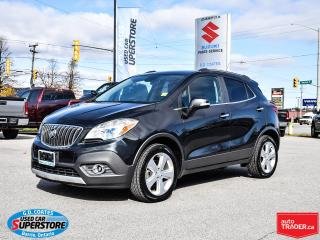 Used 2016 Buick Encore Convenience AWD ~Nav ~Cam ~Bluetooth ~Power Seat for sale in Barrie, ON
