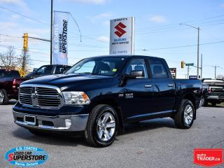 Used 2016 RAM 1500 SLT Crew Cab 4x4 ~8-Speed ~Camera ~ONLY 50,000 KM! for sale in Barrie, ON