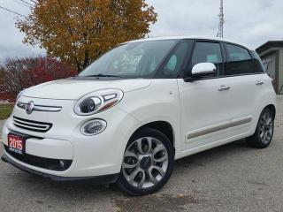 Used 2015 Fiat 500 L Lounge for sale in Cambridge, ON