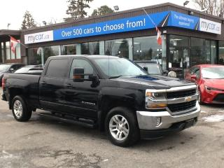 Used 2018 Chevrolet Silverado 1500 1LT LEATHER, HEATED PWR SEAT, RUNNING BOARDS, ALLOYS!! for sale in Richmond, ON