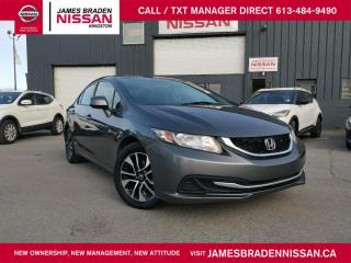 Used 2013 Honda Civic Sdn EX for sale in Kingston, ON