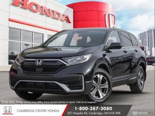 New 2020 Honda CR-V LX HONDA SENSING TECHNOLOGIES | APPLE CARPLAY™ & ANDROID AUTO™ | IDLE STOP for sale in Cambridge, ON