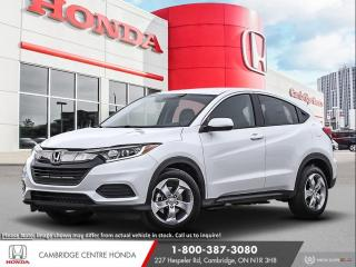 New 2020 Honda HR-V LX APPLE CARPLAY™ & ANDROID AUTO™ | HONDA SENSING TECHNOLOGIES | HEATED SEATS for sale in Cambridge, ON