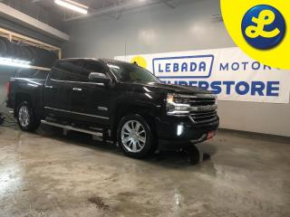 Used 2018 Chevrolet Silverado 1500 High Country 4WD Crew Cab * On Star * Navigation * Leather * Remote start * Sprayed bed liner * Reverse camera with front and rear park assist * Speed for sale in Cambridge, ON
