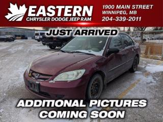 Used 2004 Honda Civic Sdn SE | As Traded | A/C | for sale in Winnipeg, MB