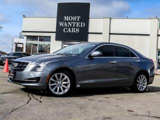 Used 2018 Cadillac ATS AWD|BOSE|BACKUP CAMERA|17