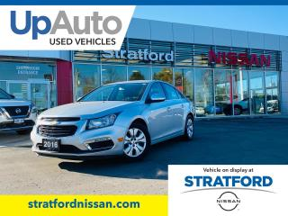 Used 2016 Chevrolet Cruze Limited|LOW KMS!LOCAL TRADE IN!PRICE BELOW MARKET|1OWNER for sale in Stratford, ON