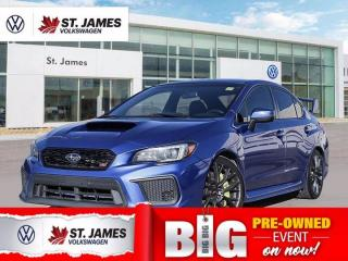 Used 2018 Subaru WRX STI Sport, Clean Carfax, Backup Camera, Heated Seats for sale in Winnipeg, MB
