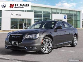 Used 2017 Chrysler 300 Touring, Clean Carfax, Apple Carplay, Heated Seats for sale in Winnipeg, MB