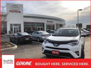 Used 2016 Toyota RAV4 Hybrid HYBRID XLE - RUSTPROOFED - HOOD DEFLECTOR for sale in Stouffville, ON