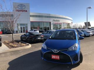 Used 2015 Toyota Yaris LE CONVENIENCE PACKAGE - WINTER TIRES ON RIMS - BLUETOOTH for sale in Stouffville, ON