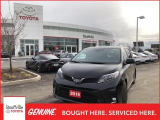 Used 2019 Toyota Sienna SE 8-Passenger SE TECHNOLOGY PACKAGE - WINTERS ON RIMS - POWER MOONROOF for sale in Stouffville, ON