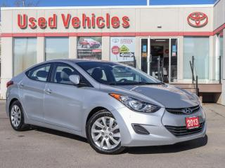 Used 2013 Hyundai Elantra GL | AUTO | 1 OWNER | LOW KMS | FREE WINTER TIRES for sale in North York, ON