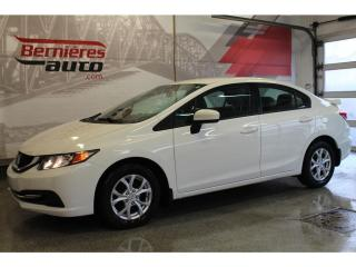 Used 2015 Honda Civic LX for sale in Lévis, QC