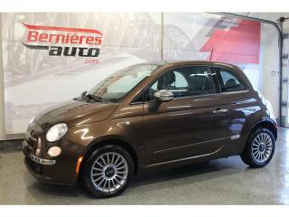 Used 2012 Fiat 500 Lounge for sale in Lévis, QC
