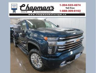 New 2021 Chevrolet Silverado 2500 HD High Country Remote Start, Heated & Ventilated Front Seats, HD Surround Vision for sale in Killarney, MB