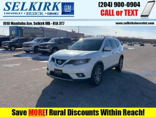 Used 2014 Nissan Rogue SL Premium  - Sunroof -  Bluetooth for sale in Selkirk, MB