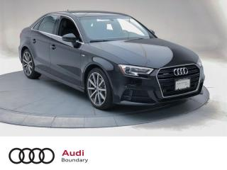 Used 2017 Audi A3 2.0T Progressiv quattro 6sp S tronic for sale in Burnaby, BC