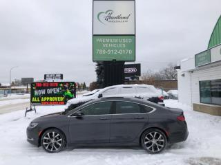 Used 2016 Chrysler 200 NAVIGATION | PANORAMIC SUNROOF | LEATHER | V6-USED CHRYSLER DEALER for sale in Edmonton, AB