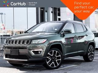 Used 2020 Jeep Compass Limited 4x4 Alpine Audio Heated Seats & Wheel Backup Camera for sale in Thornhill, ON