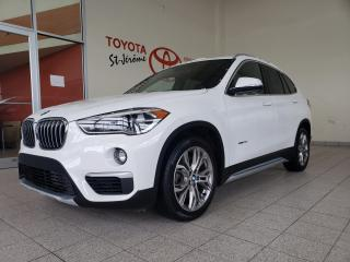 Used 2016 BMW X1 * AWD * xDrive28i * CUIR * TOIT PANO * MAGS * for sale in Mirabel, QC