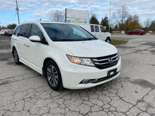 Used 2015 Honda Odyssey Touring w/RES & Navi for sale in Komoka, ON