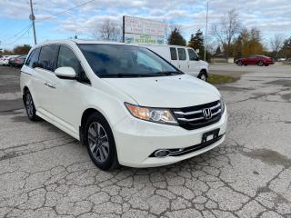 Used 2015 Honda Odyssey Touring w/RES & Navi for sale in Komoka, ON